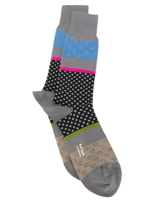 Paul Smith | Мужское Серый Patterned Socks