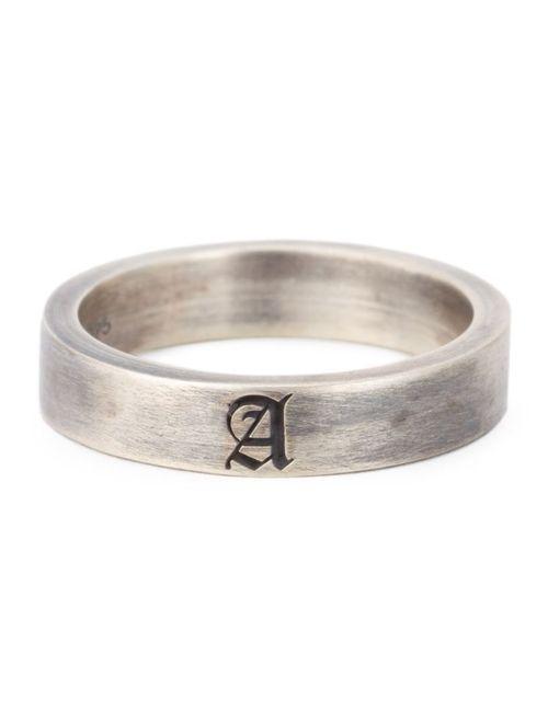 CHRISTIAN DADA | Женское Серебристый Initial Band Ring