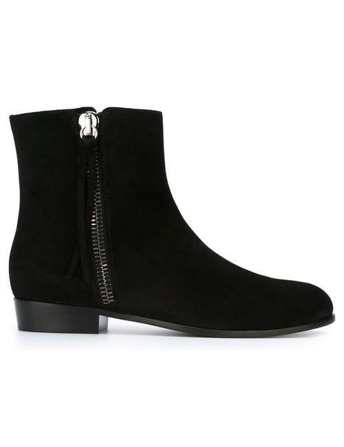 Giuseppe Zanotti Design | Мужские Чёрные Ботинки На Молнии