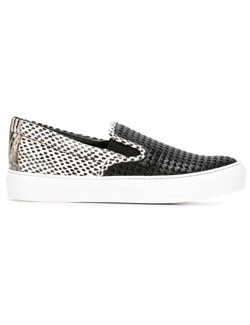 Salvatore Ferragamo | Женское Чёрный Pacau Sneakers