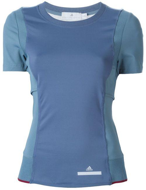 Adidas By Stella  Mccartney | Женская Синяя Футболка Run Perfect