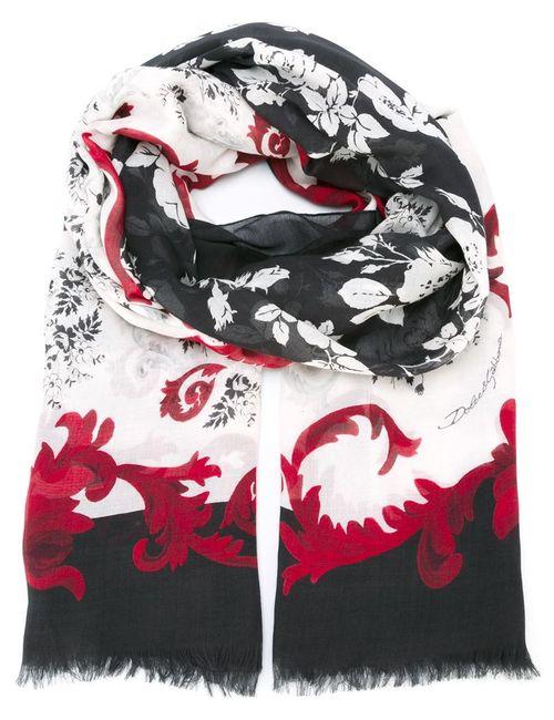 Dolce & Gabbana | Женский Multicolour Шарф С Цветочным Принтом
