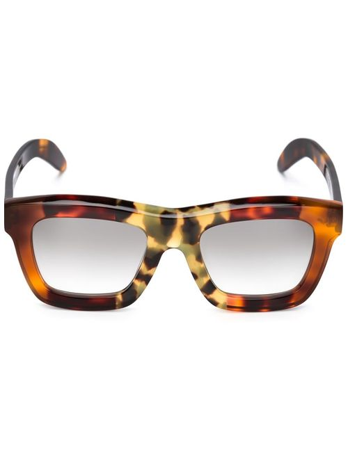 KUBORAUM | Женские Чёрные Солнцезащитные Очки C7 Mask