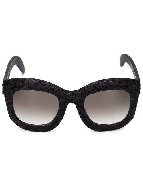 KUBORAUM | Женское Чёрный Mask B2 Sunglasses
