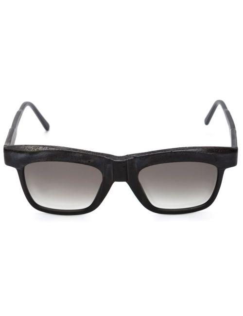 KUBORAUM | Женские Чёрные Солнцезащитные Очки Mask K6