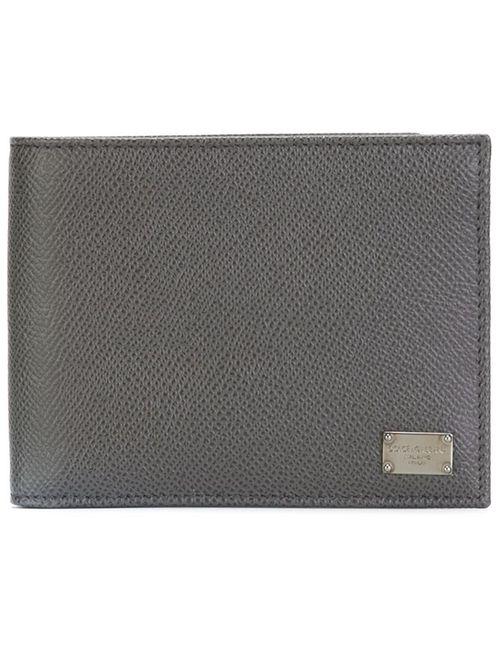 Dolce & Gabbana | Мужской Серый Классический Бумажник Dauphine