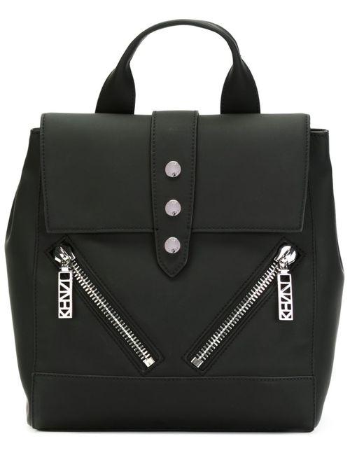 Kenzo | Женский Чёрный Рюкзак Kalifornia