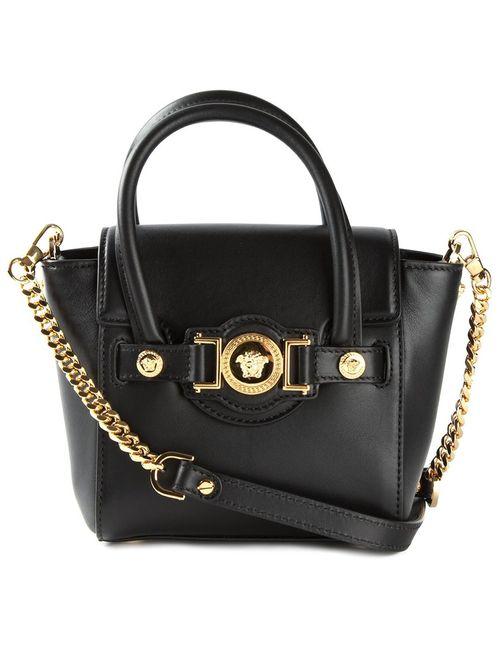 Versace | Женская Черный Маленькая Сумка Через Плечо Signature
