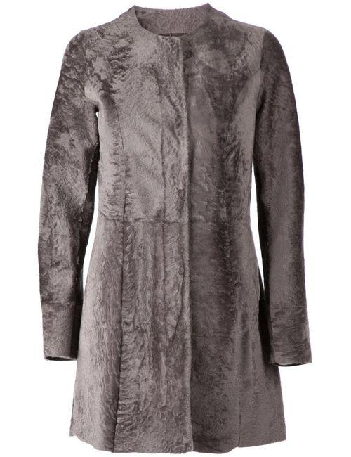 Drome | Женское Серое Двухстороннее Пальто