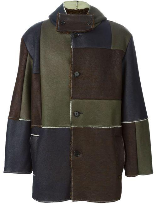 GOSHA RUBCHINSKIY | Мужское Коричневый Patchwork Duffle Coat