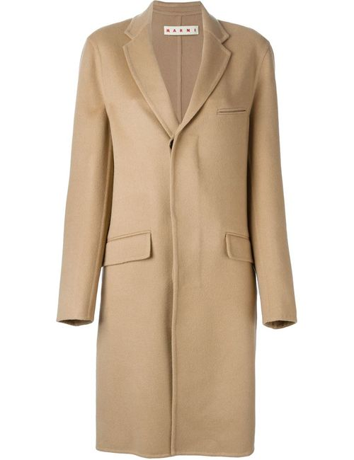 Marni | Женское Nude & Neutrals Классическое Пальто