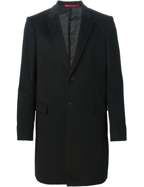 Hugo | Мужское Чёрное Пальто Arino