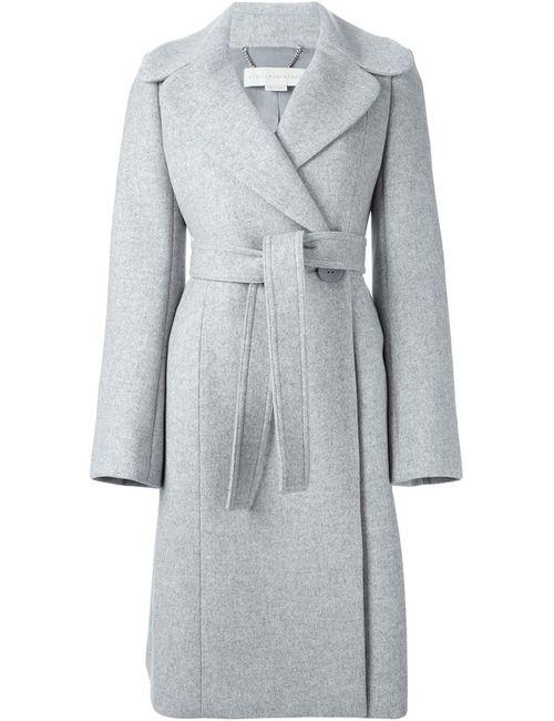Stella Mccartney | Женское Серое Пальто С Поясом