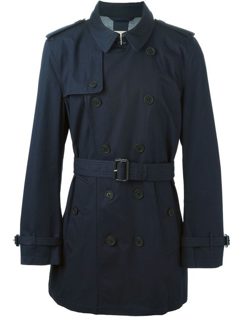 Burberry Brit | Мужское Синий Short Trench Coat