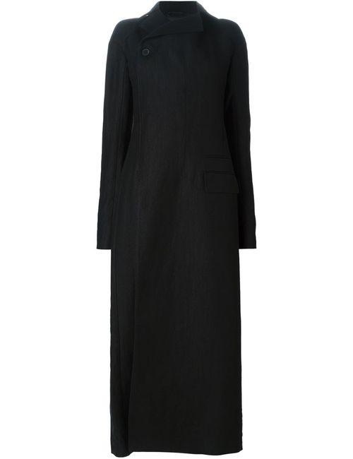 Haider Ackermann | Женское Черный Длинное Двубортное Пальто