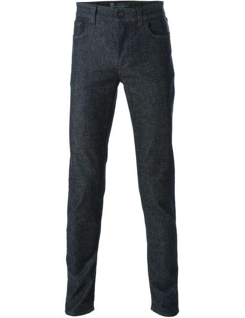 Dolce & Gabbana | Мужские Синие Джинсы Кроя Слим