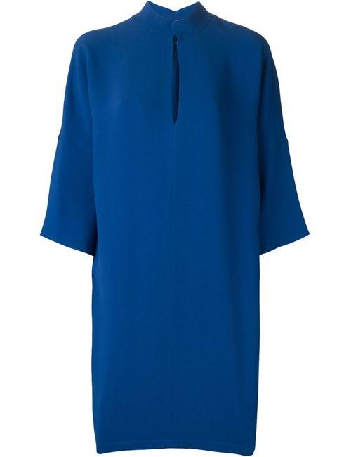 Gianluca Capannolo | Женское Синее Свободное Платье
