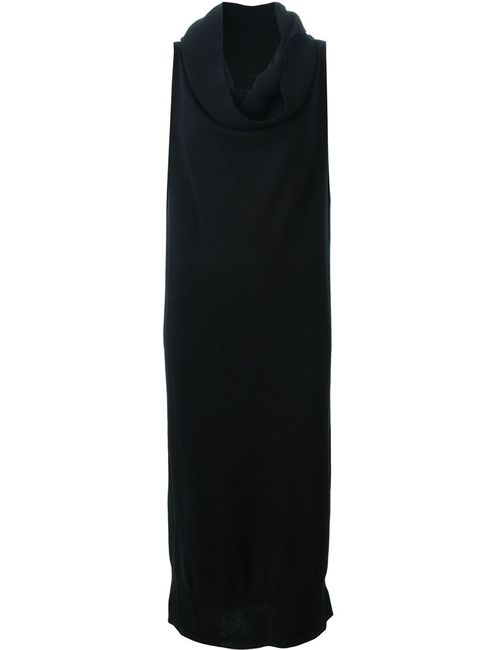 MM6 by Maison Margiela | Женское Чёрный Draped Collar Tube Knit Dress