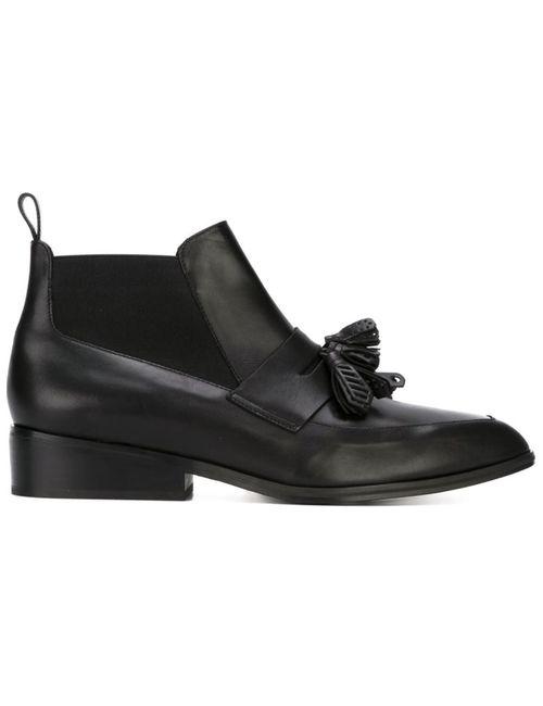 Robert Clergerie | Женские Чёрные Ботинки Xoda