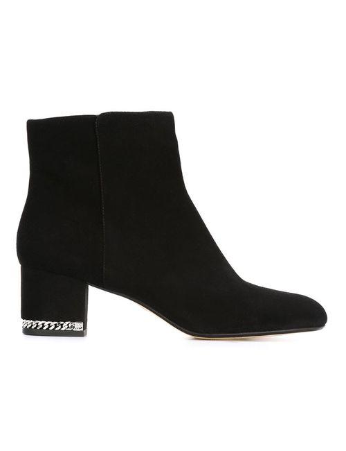 Michael Michael Kors | Женское Чёрный Chain Block Heel Boots