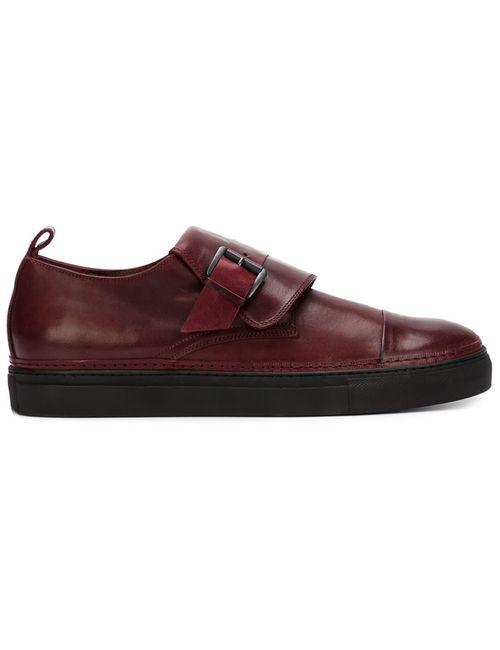Ann Demeulemeester | Мужское Коричневый Distressed Monk Shoes