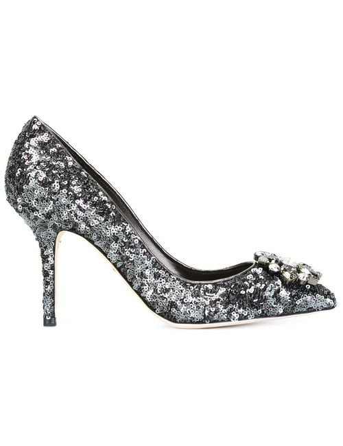 Dolce & Gabbana | Женское Серебристый Bellucci Pumps