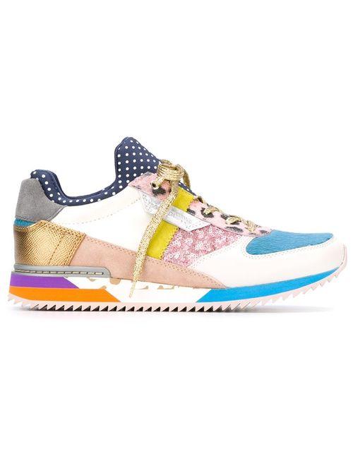 Dolce & Gabbana | Женские Многоцветные Кроссовки С Панельным Дизайном