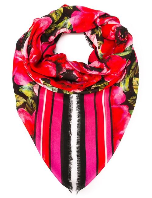Balmain | Женское Красный Print Scarf