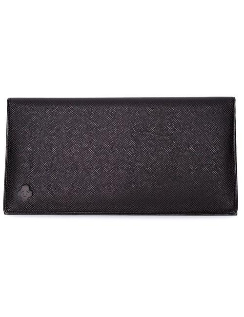 IKIJI | Мужской Чёрный Бумажник-Визитница