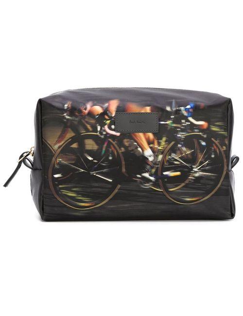 Paul Smith | Мужское Чёрный Cyclists Print Washbag