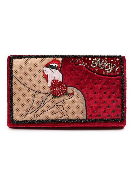 PRECIOUSLY | Женское Красный Enjoy Clutch