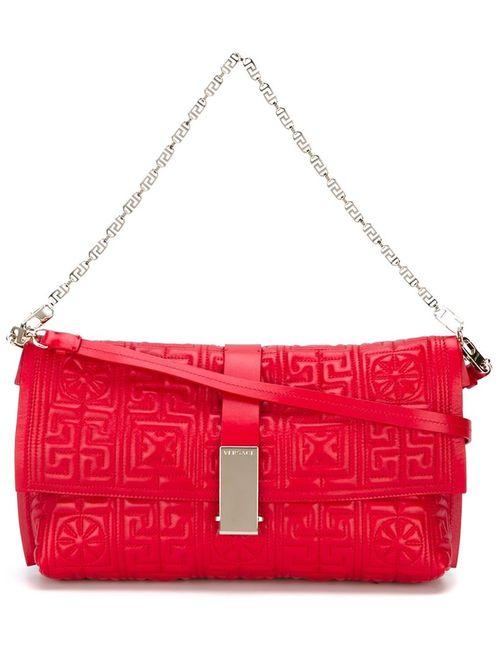 Versace | Женская Красная Сумка На Плечо Vanitas