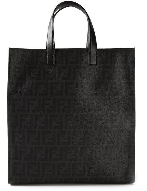 Fendi | Мужское Чёрный Ff Logo Shopper