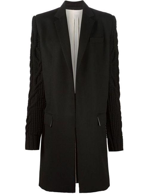 Vera Wang | Женское Чёрный Reedfer Coat