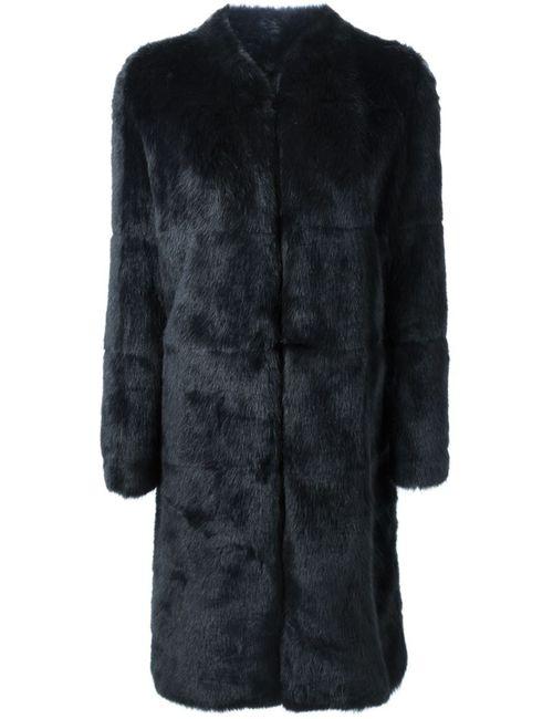 08SIRCUS | Женское Синее Меховое Пальто