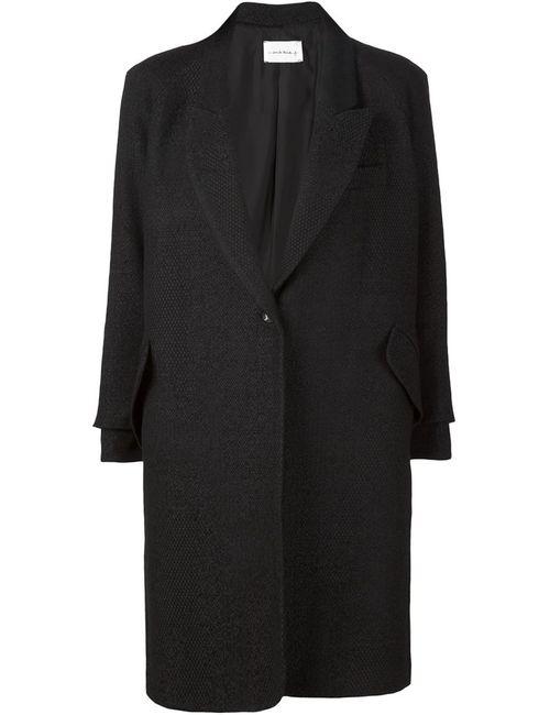 SONG FOR THE MUTE | Женское Черный Однобортное Пальто