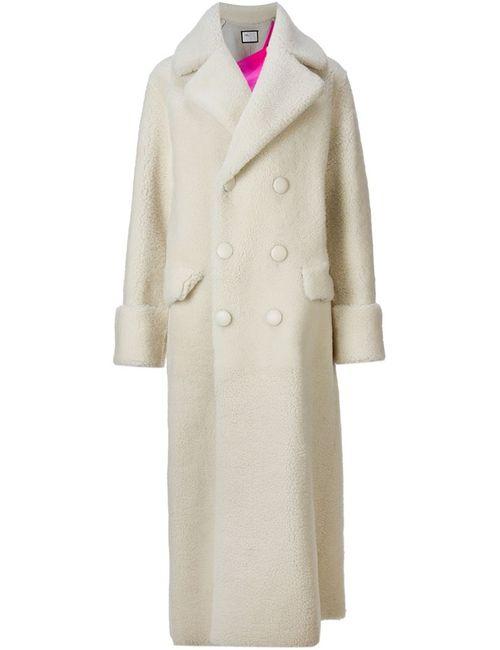 Toga | Женское Белое Двубортное Пальто