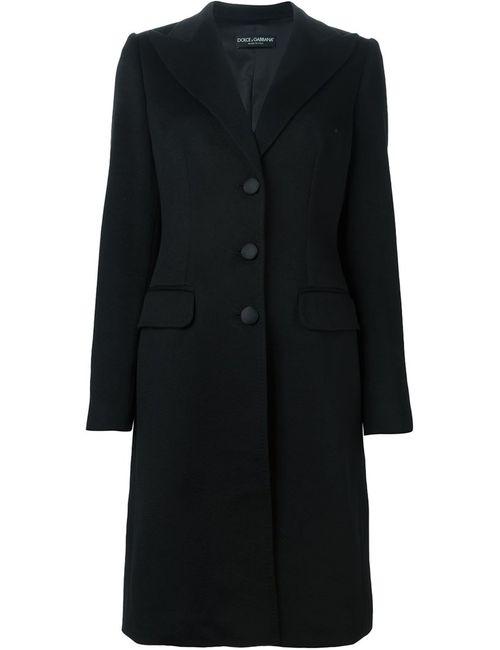 Dolce & Gabbana | Женское Черный Однобортное Пальто