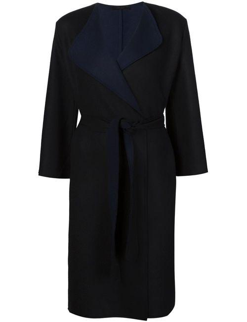 The Row | Женское Чёрное Пальто С Запахом Thildon