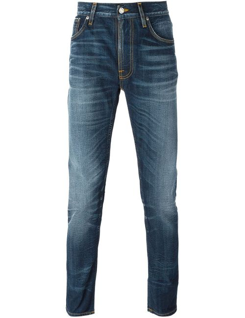 Nudie Jeans Co | Мужские Синие Джинсы Кроя Слим