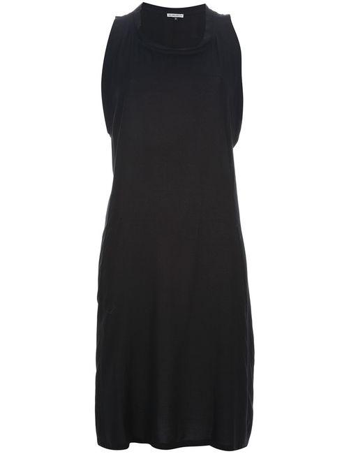 Ann Demeulemeester | Женское Черный Платье С Ремешками Сзади