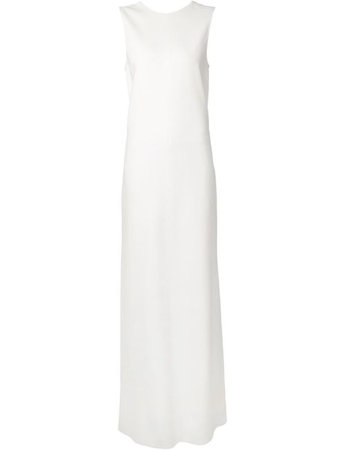 Vera Wang | Женское Белый Sleeveless Column Gown