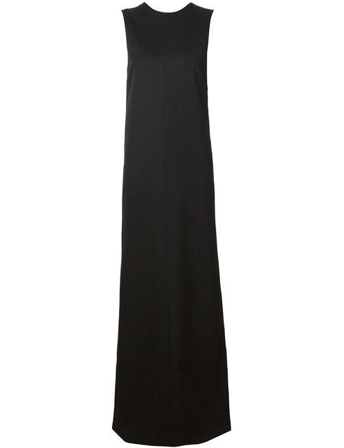 Vera Wang   Женское Чёрный Sleeveless Column Gown