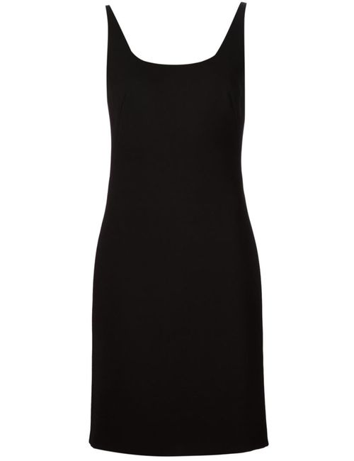 Tomas Maier   Женское Чёрный Sleeveless A-Line Dress