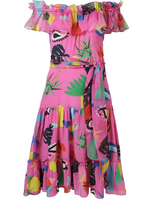 Isolda | Женское Розовый Niemeyer Midi Dress
