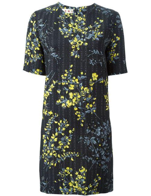 Marni | Женское Черный Print Dress