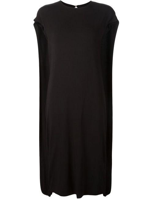 AUDRA | Женское Чёрный Loose Fit Midi Dress