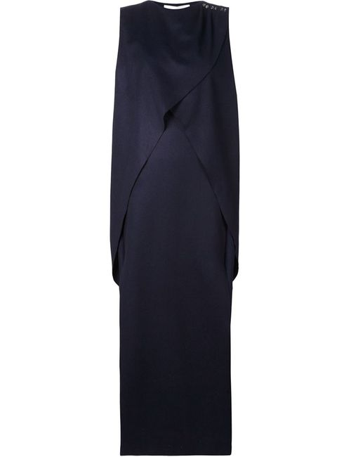 AUDRA | Женское Синий Crossed Draped Front Maxi Dress