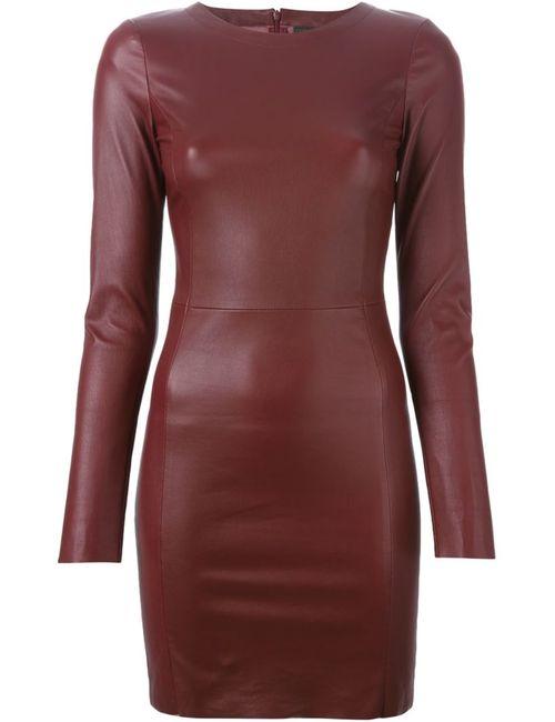 Drome | Женское Красное Облегающее Короткое Платье