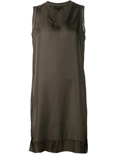 Rag & Bone | Женское Серое Платье-Шифт Maude